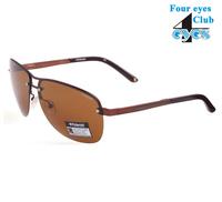 Polaroid fashion metal polarized sunglasses A4306-D Brown fashion  high quality   brand designer sunglass
