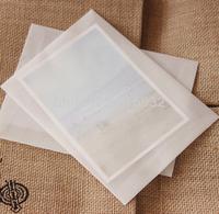 20pcs/lot 17.5*12.5CM blank translucent Paper Envelopes Mini envelopes wedding