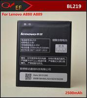 New BL219 Original Lenovo cell phone 2500mAh  Battery  For Lenovo A880 A850+ A890E A889 S810T