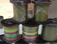 2000m\roll 4strands pe dyneema braid fishing line 10lb-70lb fishing lure line