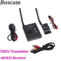 Boscam 32CH 5.8G 600mW Wireless AV FPV Transmitter TS832 + Receiver RC832 Modules Audio Video Transmitter and Receiver Set