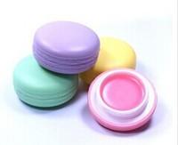 Free shipping Macaron Lip Balm Lipstick,OSweet Taste Fruit Embellish Lip Makeup Lipstick,12pcs/lot