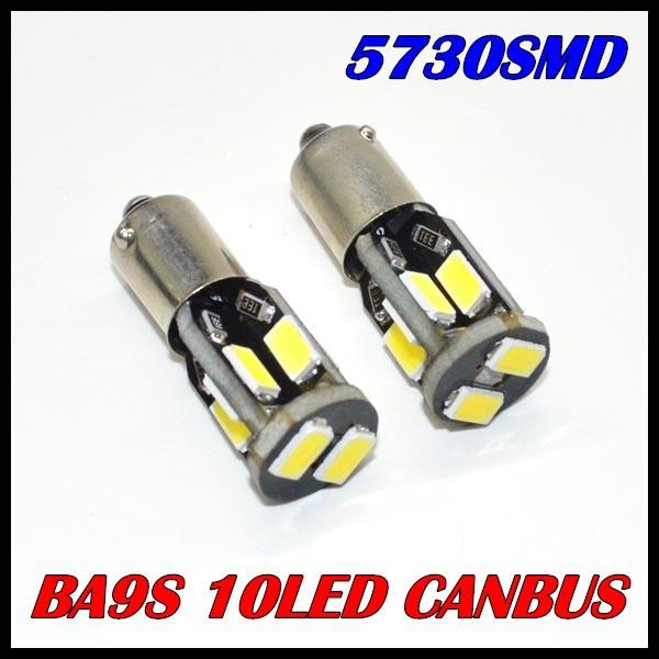 Источник света для авто Oem ! 50 X BA9S T10 W5W 194 168 5630 10 SMD Canbus 12V источник света для авто 10 x led t10 w5w 5050 5smd 12v canbus 192 168 194 2825 158