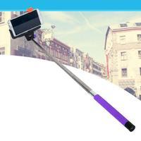 2015 Hot Trustworthy 2015 New Handheld Bluetooth Selfie Stick Monopod Extendable For iPhone Samsung HTC Purple