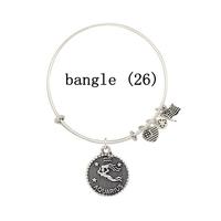 "56 styles (5pcs /lot) Alex and Ani women bracelet, ""LOVE"" charm Alex and Ani bracelets bangles for women"