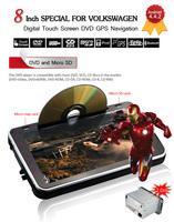 Android 4.4.2 system HD screen 2 Din Car DVD Player for GOLF 6 Skoda POLO PASSAT JETTA TIGUAN TOURAN Skoda Car Radio,CANBUS