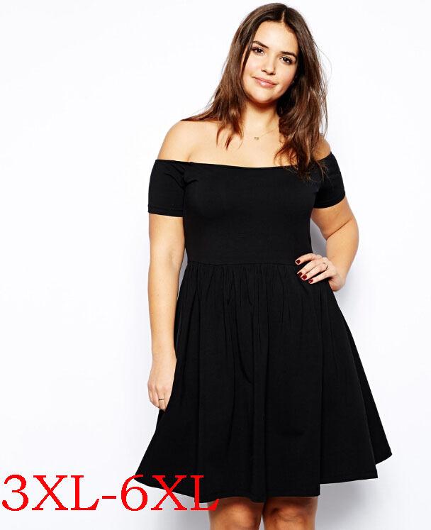 Wholesale Plus Size Women Vestidos Dresses 6xl Big Large Size Sexy ...