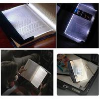 1PC New Magic Night Vision Light LED Reading Book Flat Plate Portable Car Travel Panel, Free Shipping