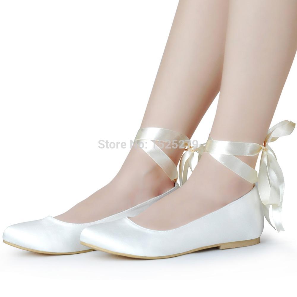 Popular Ivory Bridal Shoes Flats Buy Cheap Ivory Bridal Shoes Flats Lots From China Ivory Bridal