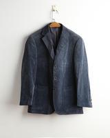 Man's Wardrobe suit slim Blazers corduroy 100% cotton autumn and winter mans garment