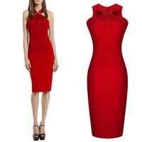 2014 New Arrival Women Slim Elegant Dress European Style Pencil Dresses,SB398