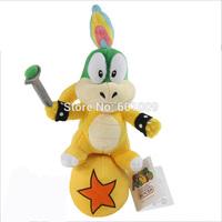 "Free Shipping Super Mario Bros. Plush Doll Stuffed Toy Lemmy Koopa Standing Ball 10"""