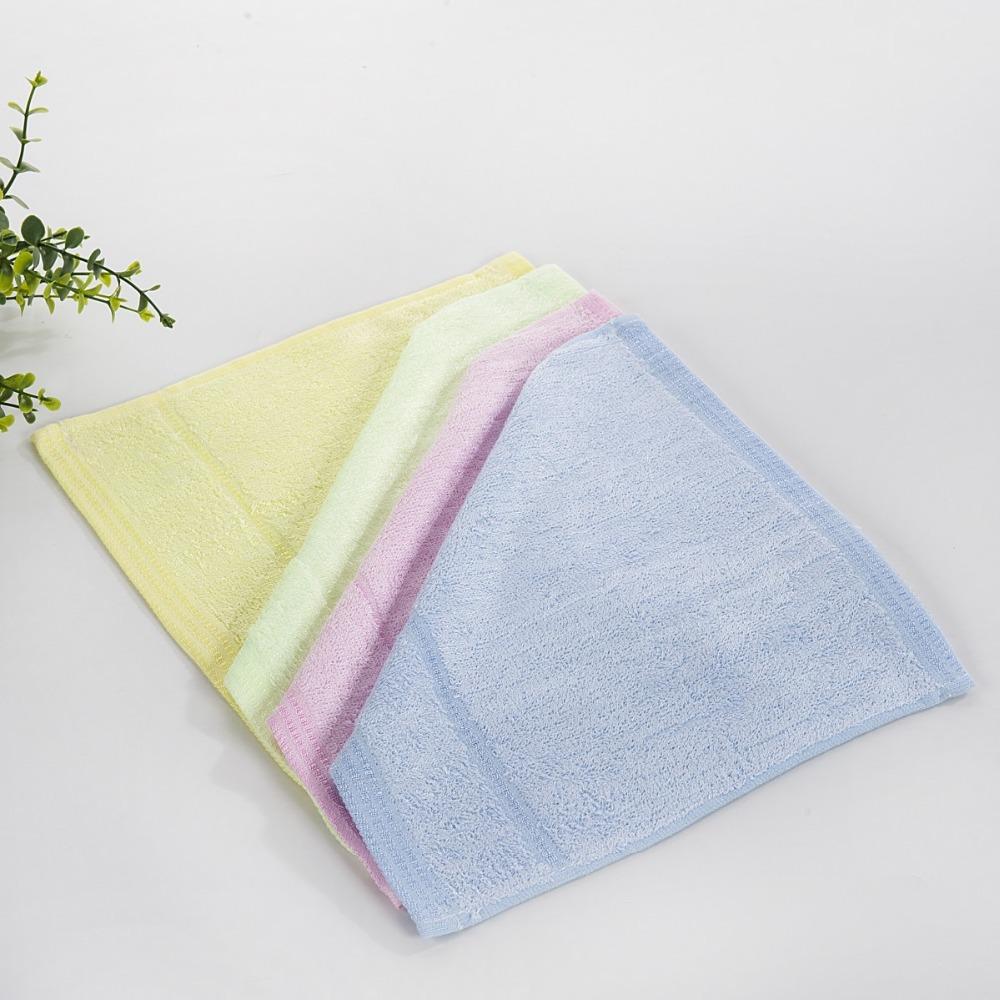 keep health!! (4pieces/lot) 100% bamboo fiber face towel 25*25cm quick dry towel set(China (Mainland))