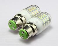 5x B22 LED lamps AC 110V Corn Bulbs 48 LEDs Lamp 3528 SMD 3W Warm White lights A207