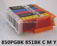850 xl 851 xl compatible Ink cartridge for canon PIXMA MG5480/MG6380/MG6400/MG7180/IP7280/MX728/MX928  printer full ink