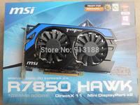 Original teardown second-hand Msi HD7850 DDR5 1 g independent video card