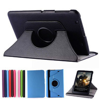 25pcs/lot 360 Rotating Leather Case Stand Protective Skin Cover For LG G PAD 10.1 V700 10.1inch Tablet PC DHL