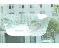 wide angle fresnel lens wide parking reversing windshield sticker mirror useful enlarge anti blind angles FZ