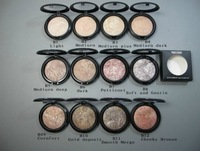 NEW MINERALIZE SKINFINISH POWDER ,12 colors Face Powder,10g (1 pcs/lots)1pcs free shipping
