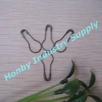Free Shipping 2000 pcs Black Knit Sewing Safety Pin