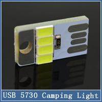 Mini USB 5730 4 LED Light computer keyboard panel bulbs mobile notebook Night Light Mobile Power Camping Bulb