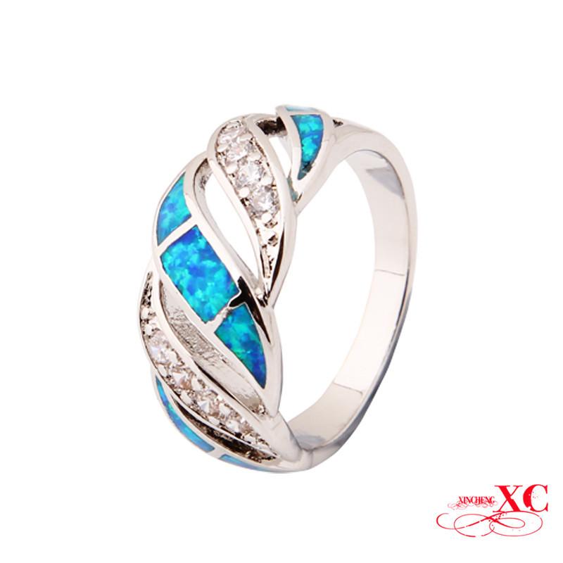get cheap blue opal ring aliexpress alibaba