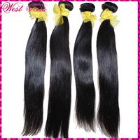 WHY CHOOSE US ? Raw+Unprocess+Natural+Soft+Thick+7A 100% Virgin Laotian Human Hair Straight 4pcs/lot fast shipping