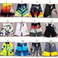 2015 New Men's Mix Style strip Surfing Shorts Beach Quick-drying Swimwear shorts Swimming Trunks Sports Shorts strip 4models