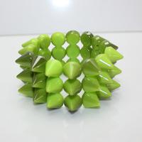 (Min order 6$) Artilady spike Resin bangle punk bangle bracelet send to friends(141209)