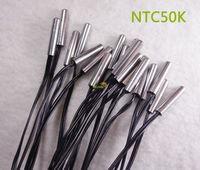 NTC50K Temperature Sensor 5mm Diameter 25mm length of pocket 50cm wire 2 wires