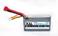 HRB  Free shipping Lion Power Lipo battery 11.1V 2600MAH 30C 3S1P Max 30C Lipo battery
