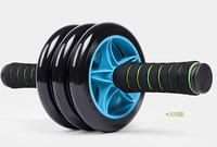 2015 HOT 3 Wheels Men and Women fitness wheel for AB Roller Sport equipment & Blue,Green