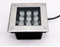 AC220V/110V 9W underground lamps led underwater light garden recessed underfloor light waterproof IP65 DHL free shipping