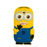 For Huawei Ascend G610 G610S C8815 3D Despicable Me Minions rubber phone cover case