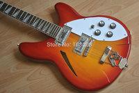 12 Strings guitar cherry sunburst electric guitar In Stock