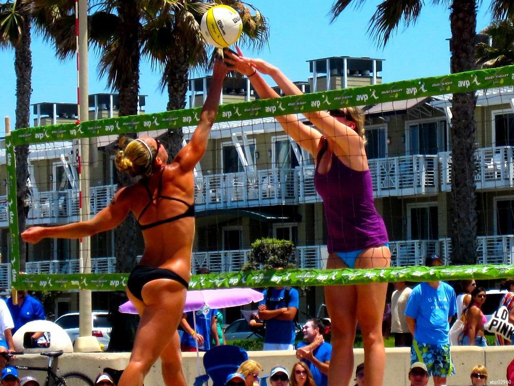 Beach Volleyball Poster Beach Volleyball Sport Hot