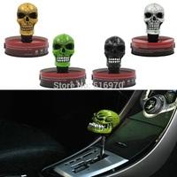2014 Hot Car Vehicle Decoration Skull Head Style Gear Shift Lever Knob modified shift knob gear head gear stick head