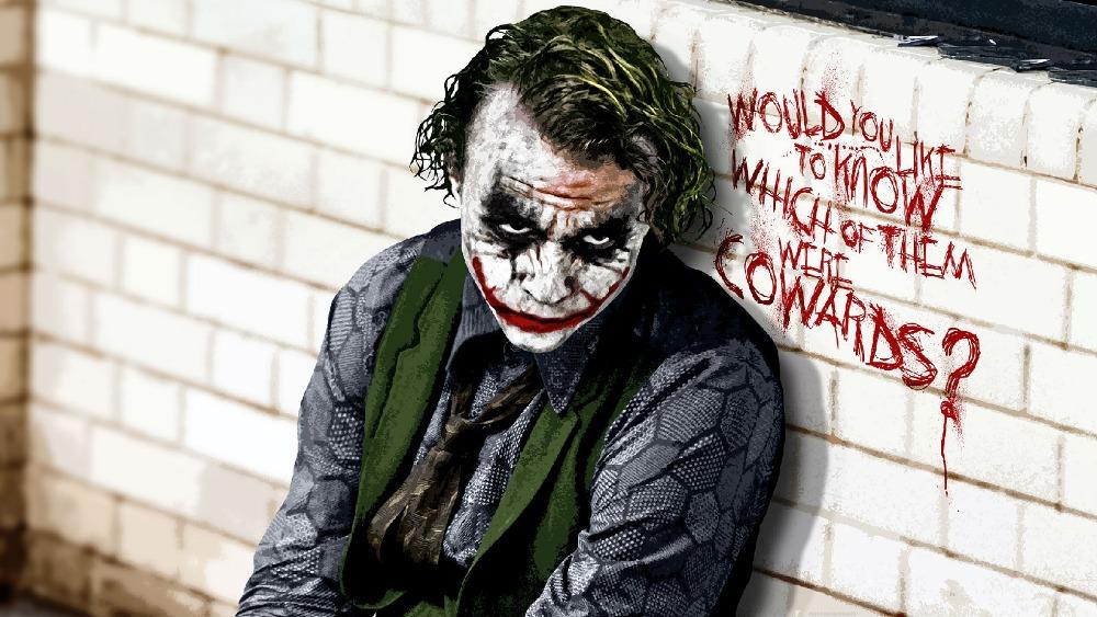 Goedkope Slaapkamer Decoratie : Batman Joker Heath Ledger