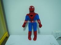 25cm Spiderman Spider Man superhero super heroes Soft  Stuffed Animals Toys Plush Doll ,retails,small wedding toy child gift