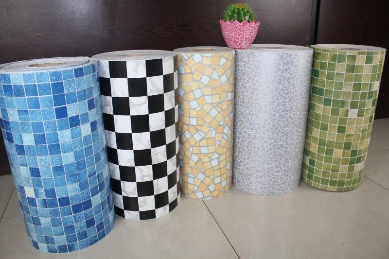Bathroom wall decals vinyl stickers home decor mosaic wallpaper paper