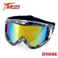 Panlees Anti-fog Snow Goggles Dual Lens Ski Goggles Mirror Skiing Glasses Interchangeable Lens Anti-UV400 Free Shipping