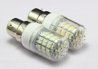 B22 LED lamps AC 220V Dimmable Corn Bulbs 48 LEDs Lamp smd 3528 White&Warm White lights Free shipping A207