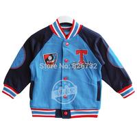 free shipping  spring and autumn boy's THOMAS 100% cotton outwear. children's outwear