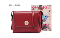 Women candy color handbags ,pure color body with diamond insert design 2015 new arrived item:4662