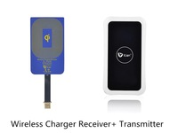 New Qi Wireless Charger for iPhone 6 4.7 inch Wireless Power Charging Receiver Coil+ Transmitter Set CE FCC high Quality