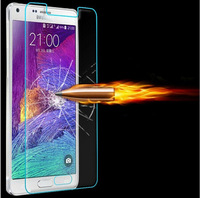 Tempered Glass Screen Protector For Samsung Galaxy Note 4 IV N9000 9H 0.33mm Reinforced Explosion Guard Protective Film Note 4