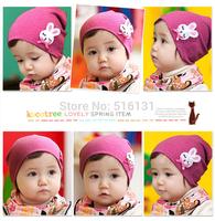 2pcs lovely cartoon rabbit baby girls hat infant cap kids beanies&skullies for children accessories Free Shipping