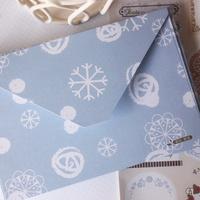 New sweet small flowers quality envelopes /Fashion style Christmas envelope