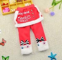 2-5Y 2014 winter girls warm cotton-padded skirt pants X14041 fur liner