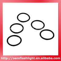 Free Shipping   Black Water-tight O-Ring Seals 18MM x 1.5MM ( 5 PCS )